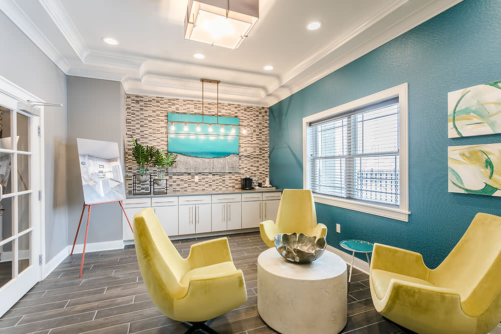 Beautiful Lounge at Ellison Heights Apartments in Rochester, NY