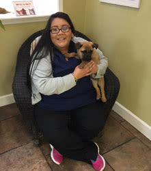 Kassandra at Grandview Veterinary Clinic