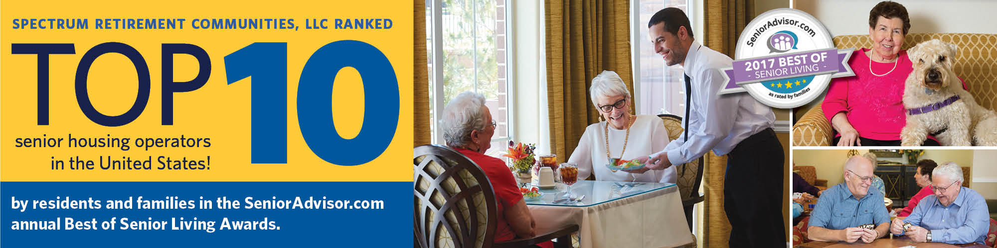 Burr Ridge Senior Living is among the Top 10 Senior Housing Operators in the United States