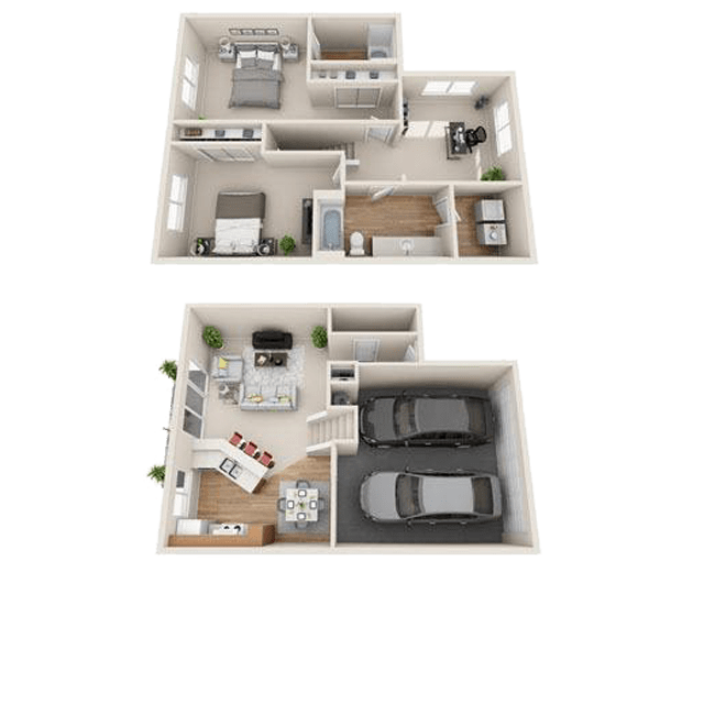 Spacious two bedroom apartment in Boise, ID