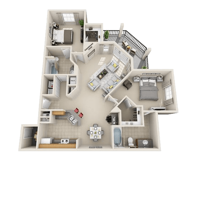 Maple Court Apartments: 1, 2 & 3 Bedroom Apartments In Haltom City, TX