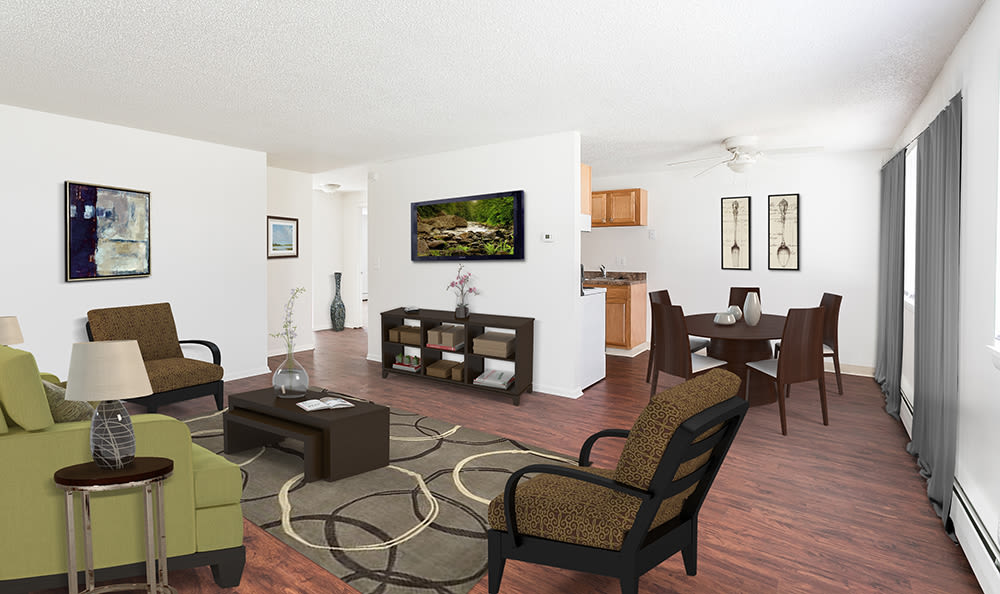 Spacious floor plans at Hilton Village II in Hilton