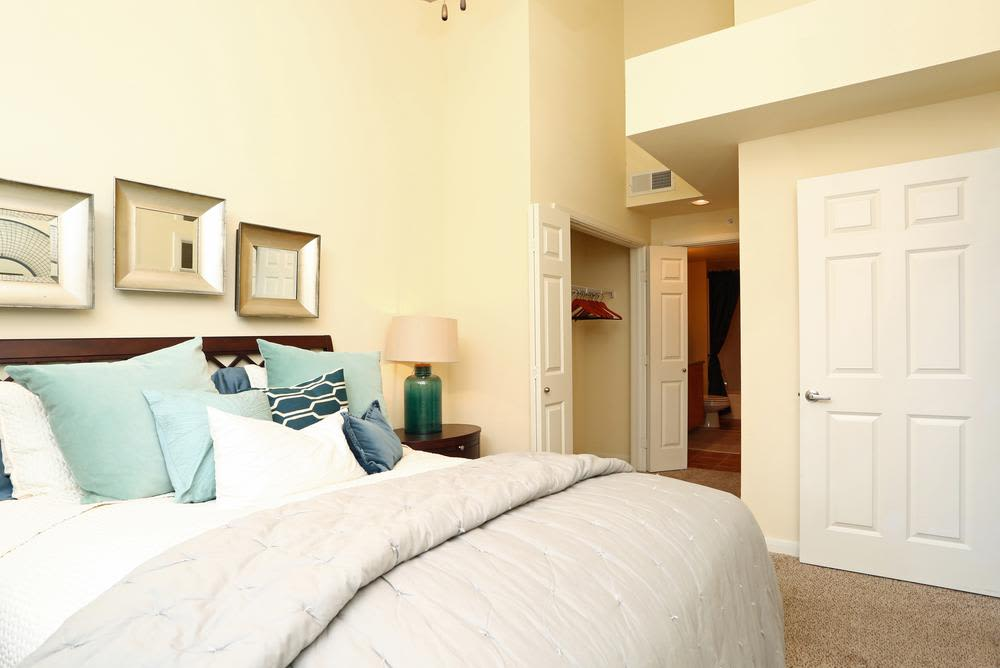 Bedroom at 1001 Ross in Dallas, TX