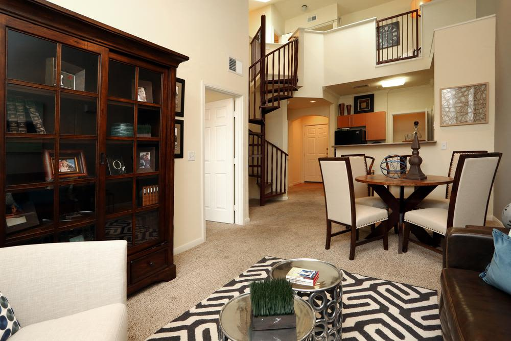 Dinning Room at 1001 Ross in Dallas, Texas