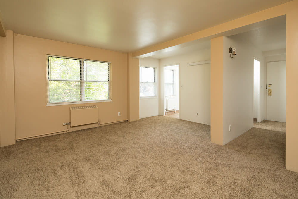 Interior of apartments at East Avenue Apartments