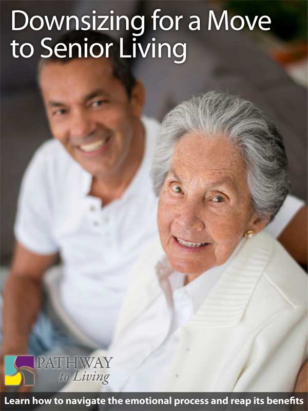 Downsizing for a move to senior living