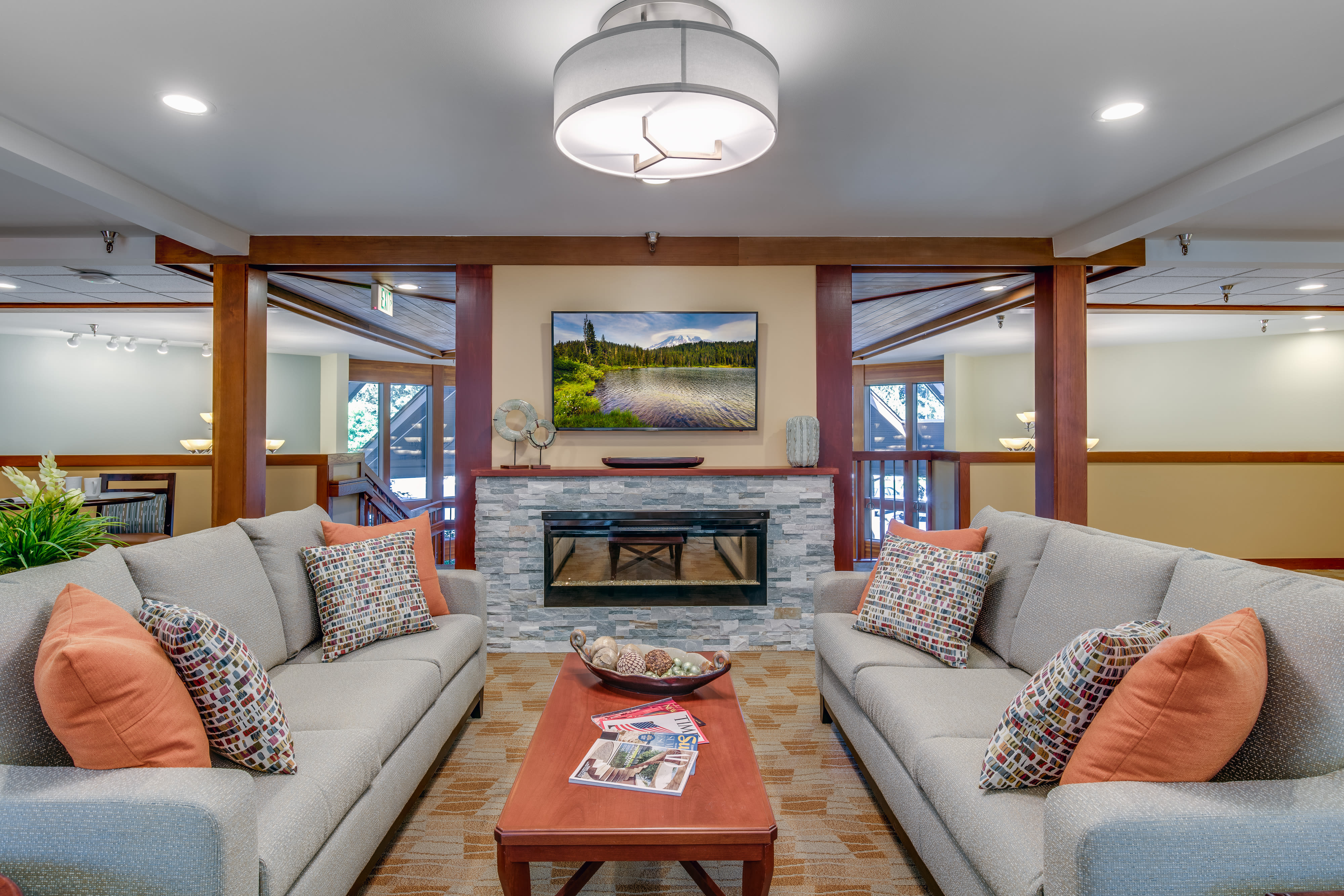 View the spacious floor plans that the senior living in Olympia is offering