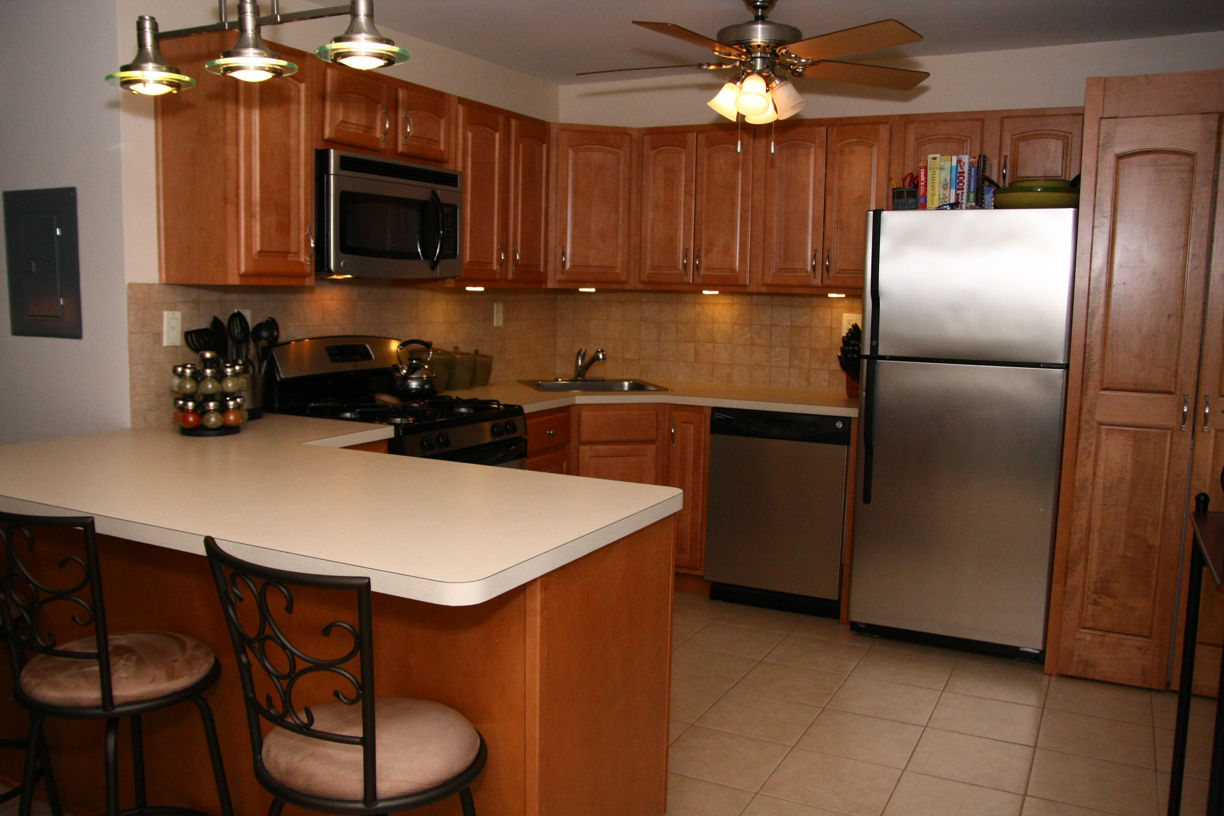 Kitchen at Center Grove Village