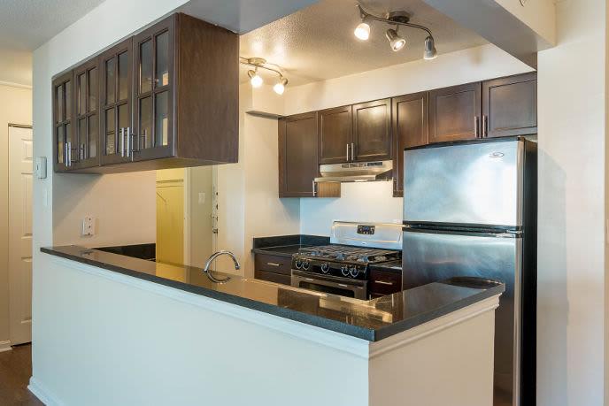 Beautiful kitchen at Towson apartments