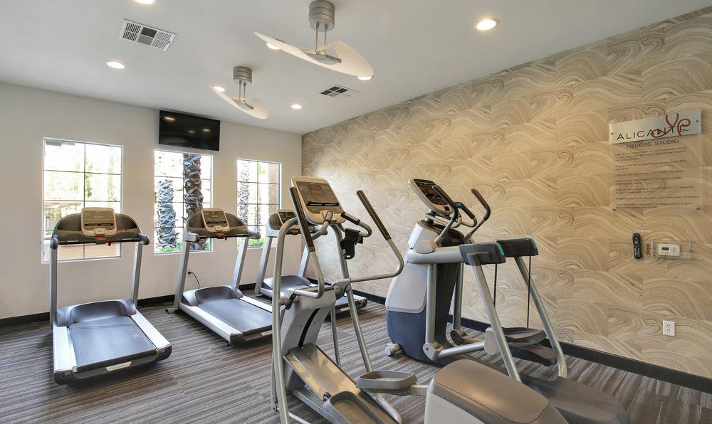 Fitness Center at Alicante Apartments in Las Vegas, NV