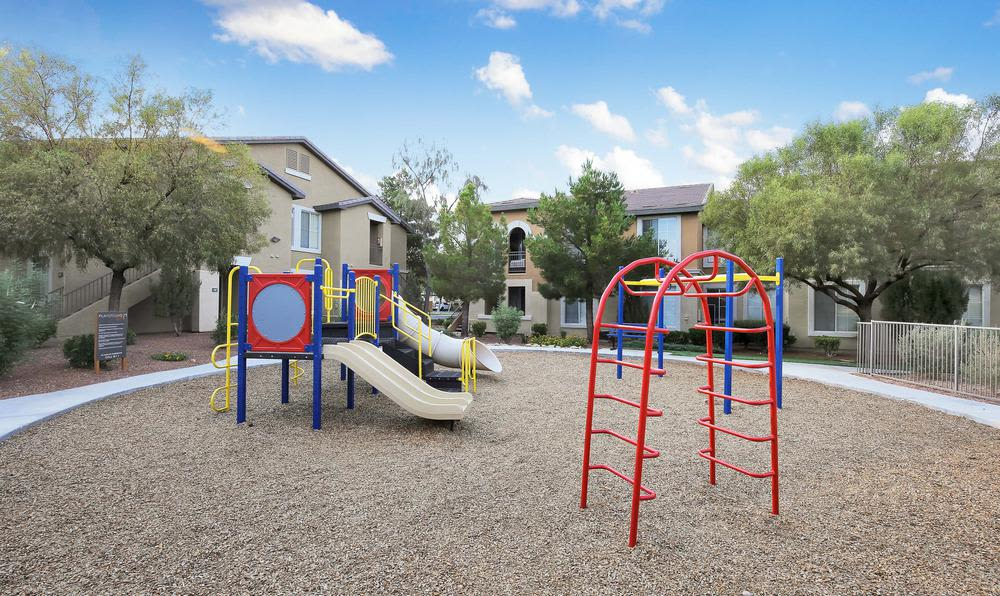 Spacious kids park at Alicante Apartments in Las Vegas, NV