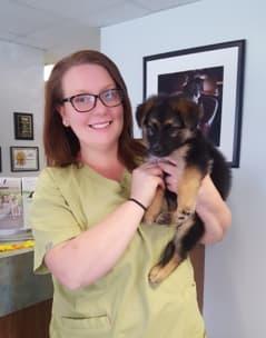 Melissa at Lenoir Animal Clinic
