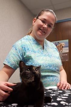 Monica at Lenoir Animal Clinic