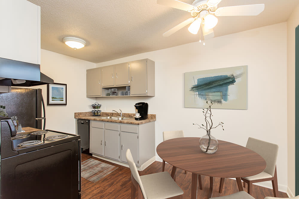 Penfield Village Apartments offers a beautiful kitchen in Penfield, New York