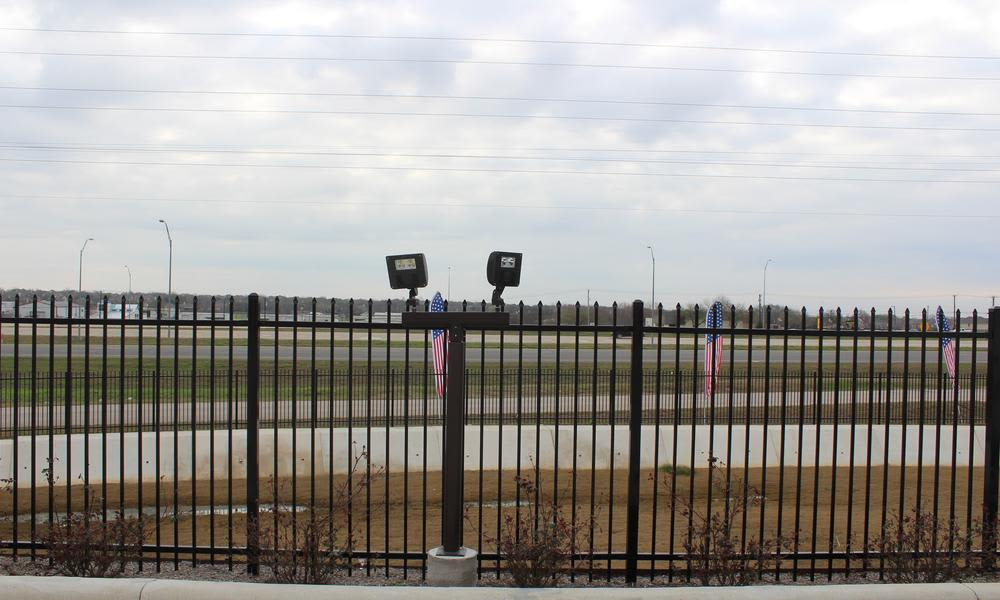 Security to stock atPflugerville Self Storage in Pflugerville, TX