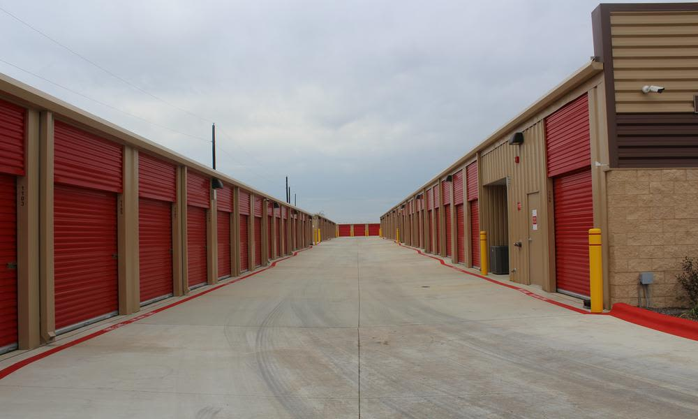 A place clean and modern to stock atPflugerville Self Storage in Pflugerville, TX