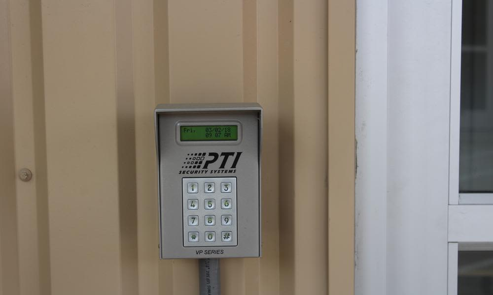 Modern security to stock atPflugerville Self Storage in Pflugerville, TX