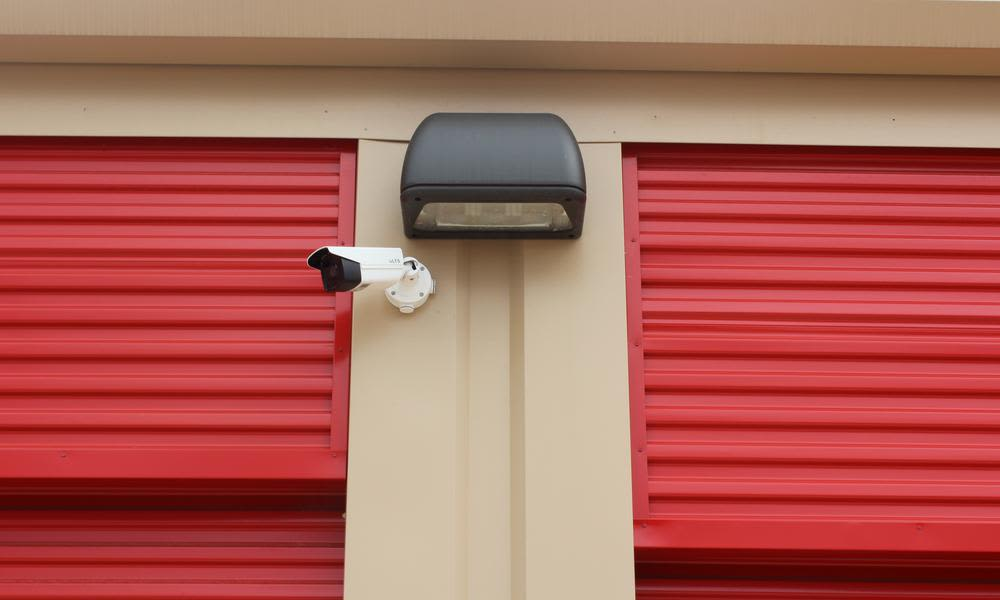 A place security to stock atPflugerville Self Storage in Pflugerville, TX