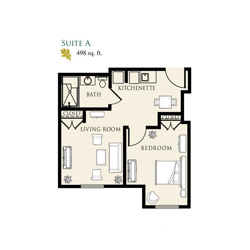 Senior Living Floor Plans | Arbor Oaks at Tyrone