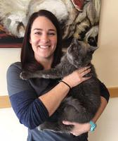 Holladay Veterinary Hospital receptionist Brittany Feala