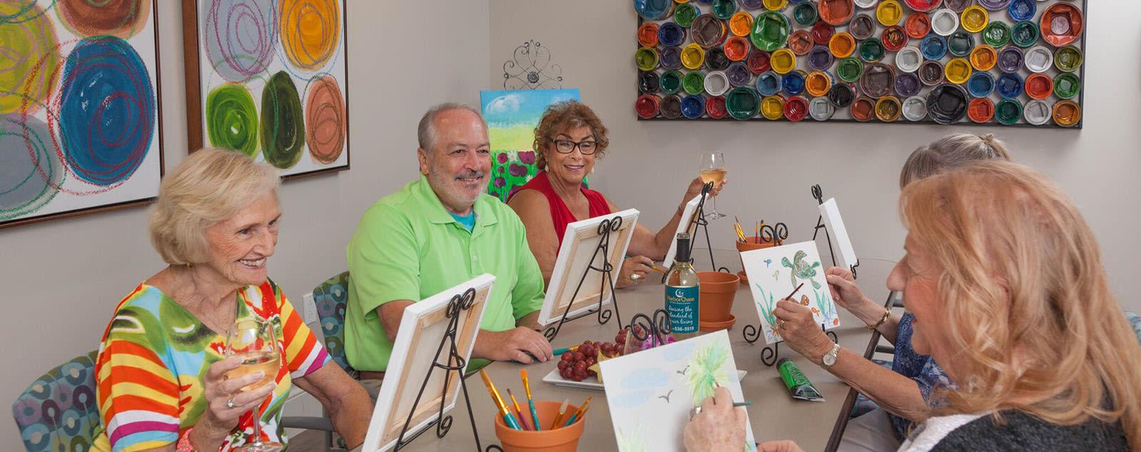 Levels of Senior Living care at senior living in Jacksonville
