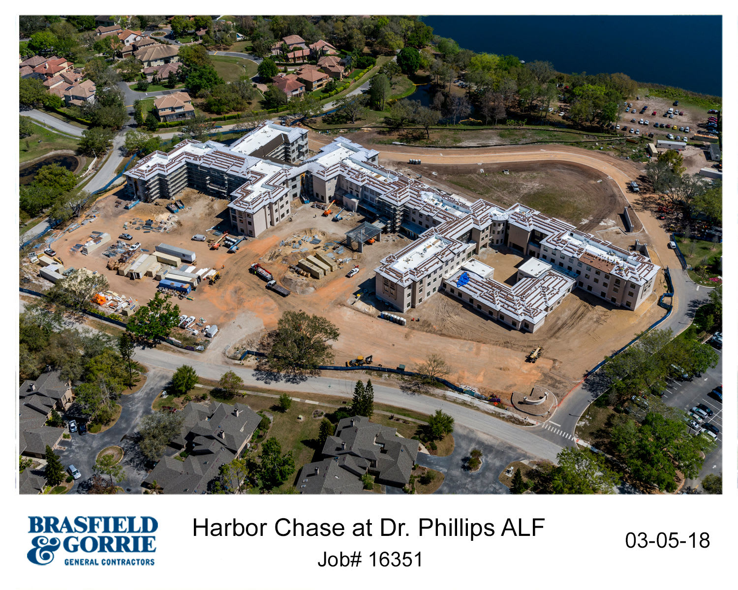 Construction of HarborChase of Dr. Phillips