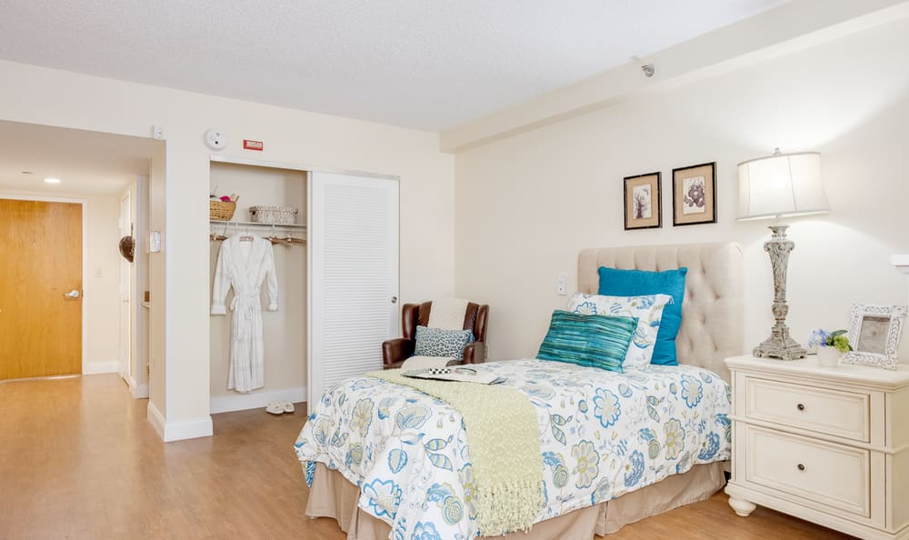 Bedroom at Grand Villa of Boynton Beach in Boynton Beach, Florida