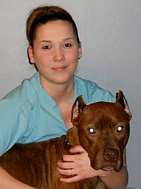 Michelle at Starch Pet Hospital in Des Moines, Iowa