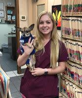 Mykayla at Lubbock Animal Hospital