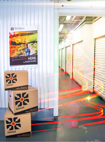 Online store graphic of StorQuest Self Storage in San Jose, California