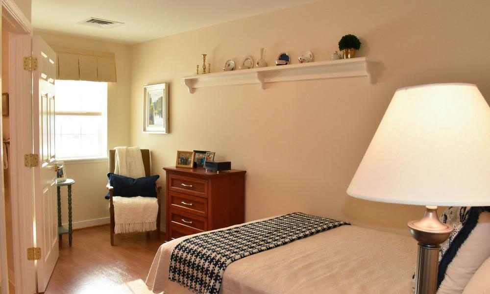 Bed Room at Artis Senior Living of Elmhurst in Elmhurst