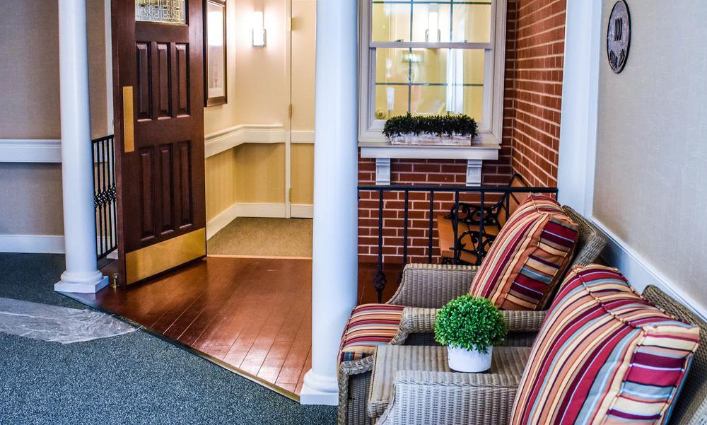 Bedroom at Artis Senior Living of Elmhurst in Elmhurst