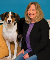 Sheri client services at St. Francis Veterinary Clinic