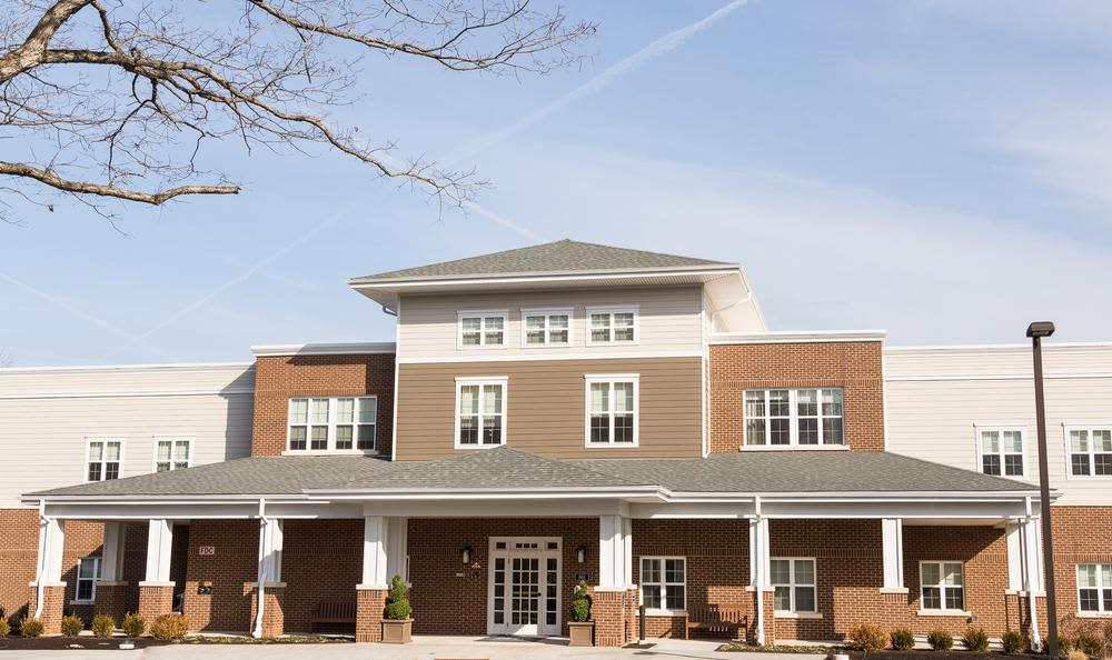 Exterior view at Artis Senior Living of Princeton Junction