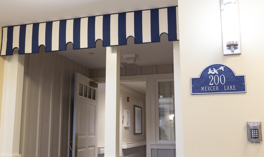 Cape entrance at Artis Senior Living of Princeton Junction