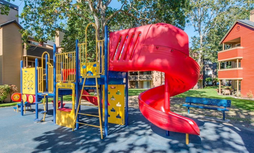 Playground at Village at Seeley Lake in Lakewood, Washington
