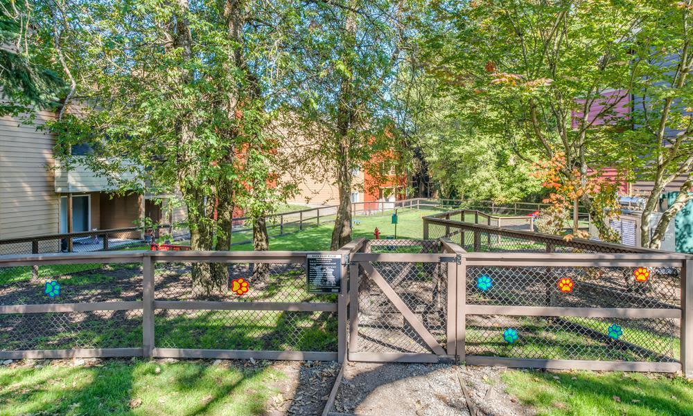 Gardens and Exterior Views at Village at Seeley Lake in Lakewood, Washington