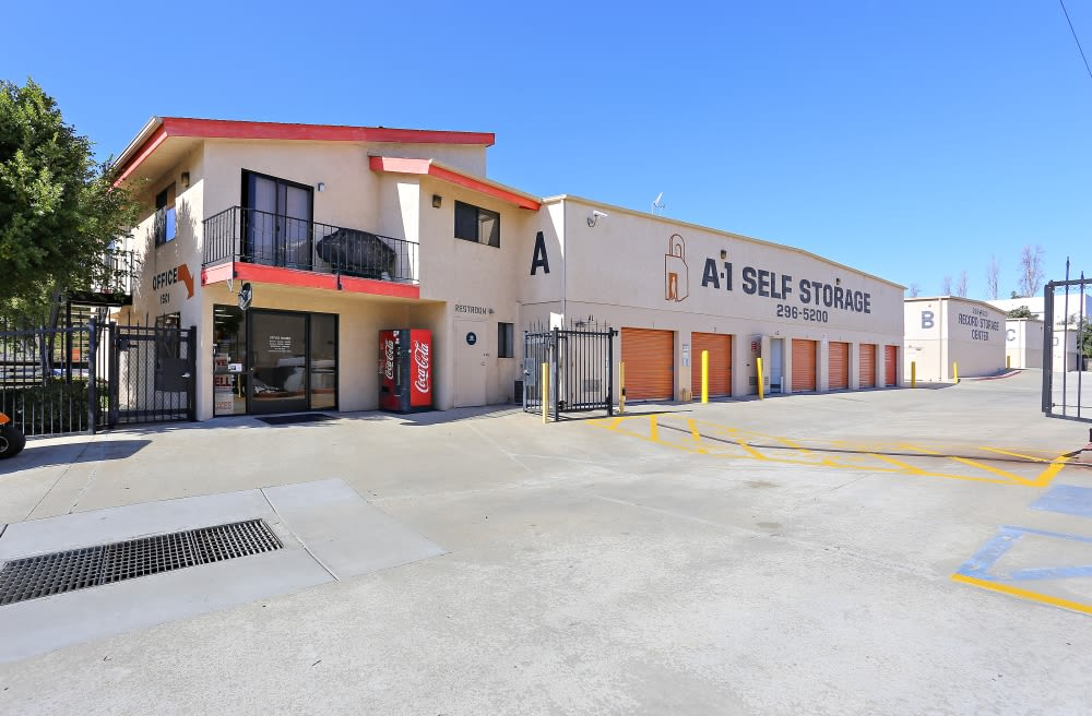 Best Storage Facility in in A-1 Self Storage in San Diego, CA
