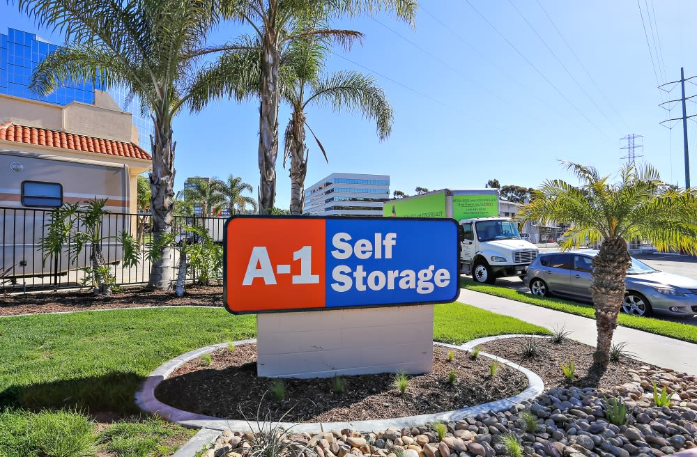 Convenient Location in A-1 Self Storage San Diego.