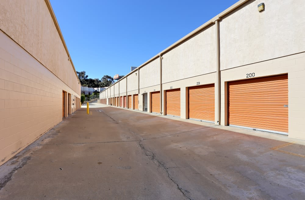 Drive Up Access Storage Units Available in A-1 Self Storage in San Diego, CA