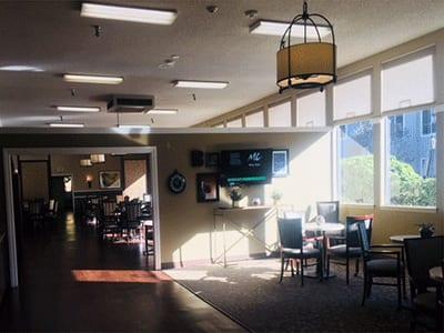 Dining room at Sagebrook Senior Living at Bellevue