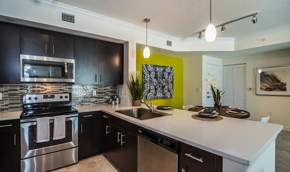 Enjoy our modern kitchen at Atlantic | Pacific Companies in Bay Harbor Islands, Atlantic | Pacific Companies