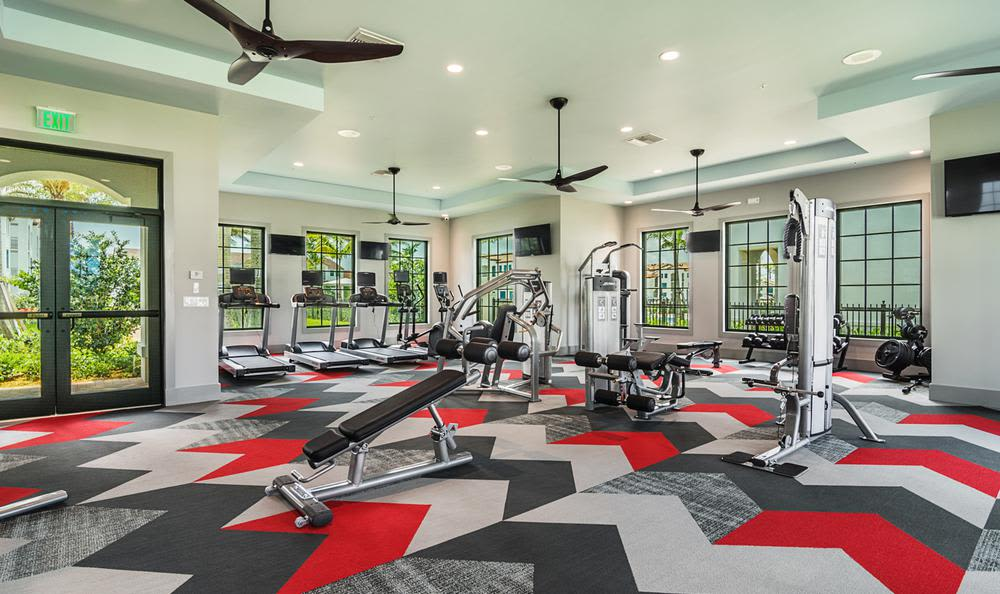 Fitness center at Atlantic | Pacific Companies