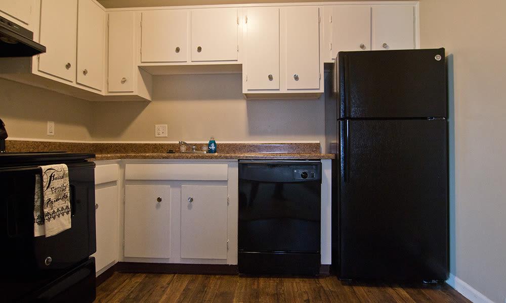 Kitchen at The Summit at Ridgewood in Fort Wayne, Indiana