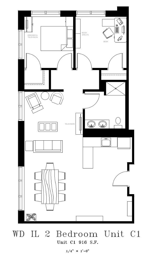 Senior Living Floor Plans | Randall Residence of Wood Dale