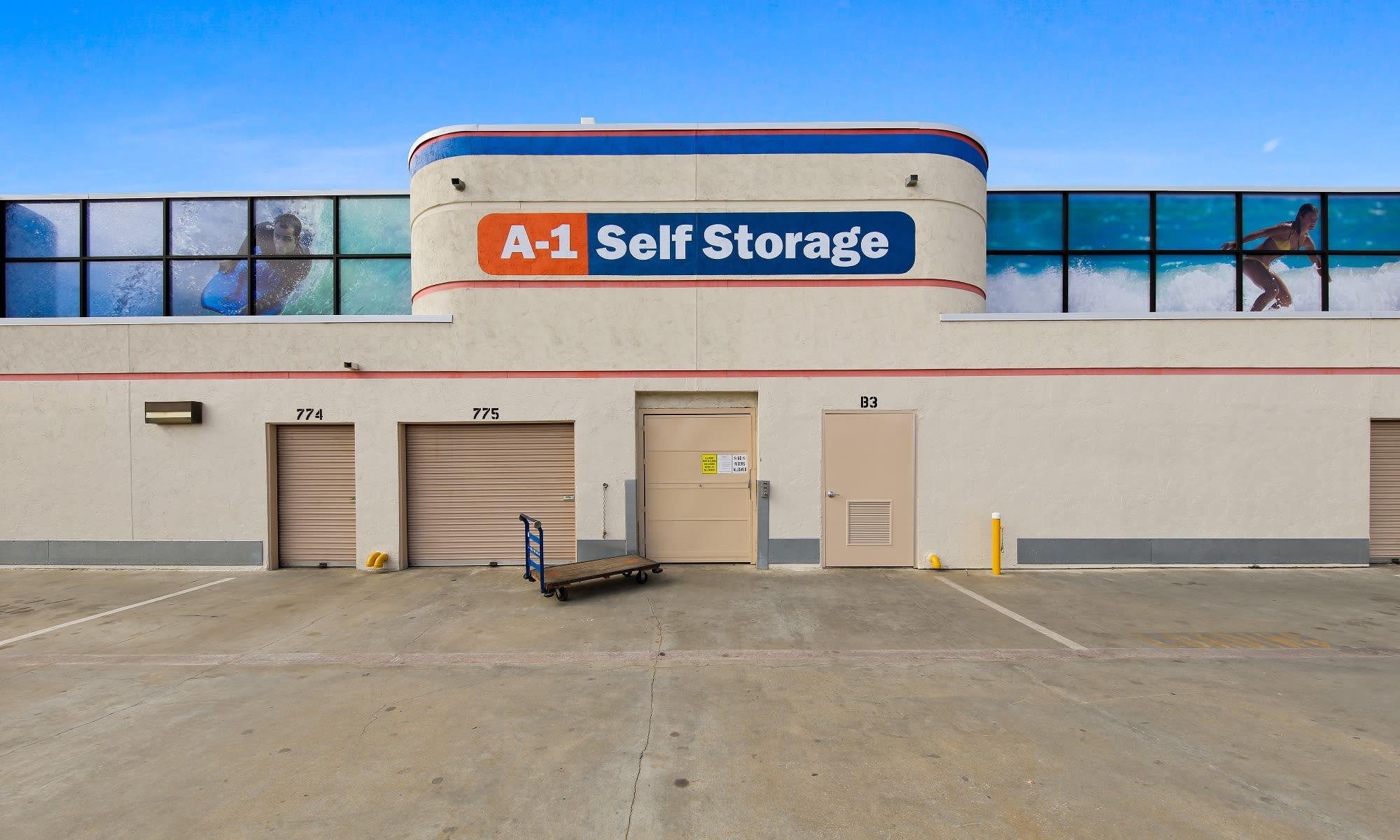 Self storage in La Mesa CA