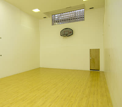 Indoor basketball court at Paradise Lane Apartments