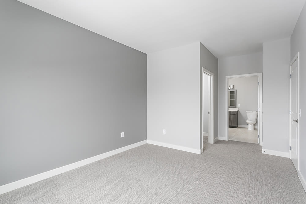 Beautiful bedroom at Ellison Heights Apartments in Rochester, New York
