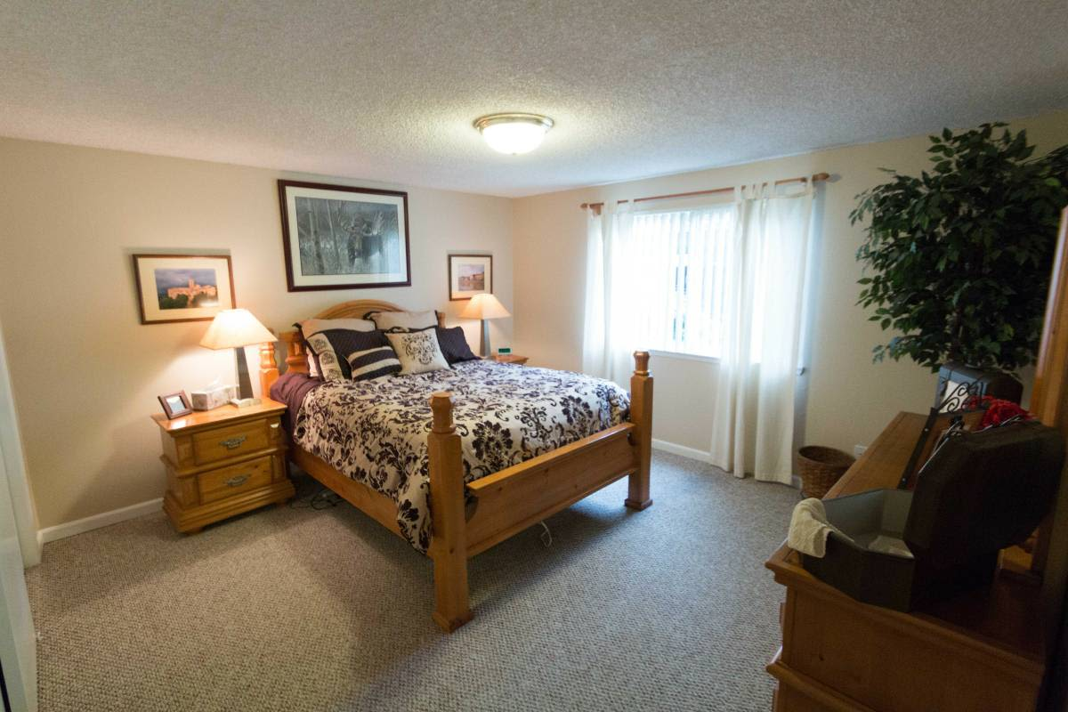 Enjoy apartments with a bedroom at Cascade Park