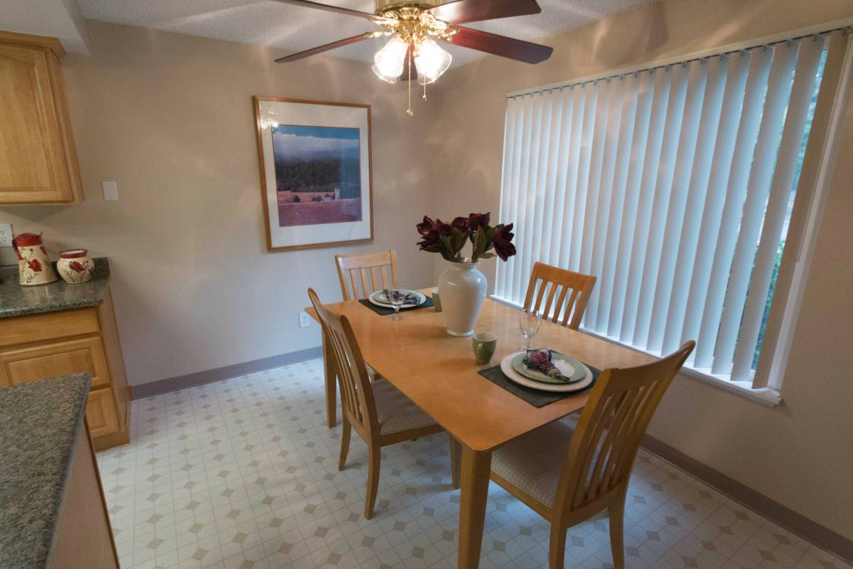 Our apartments in Vancouver, Washington offer a dining room